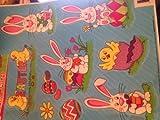 Easter Glitter Window Stickers