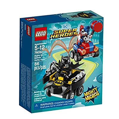 LEGO DC Super Heroes Mighty Micros: Batman vs. Harley Quinn 76092 Building Kit (86 Piece): Toys & Games