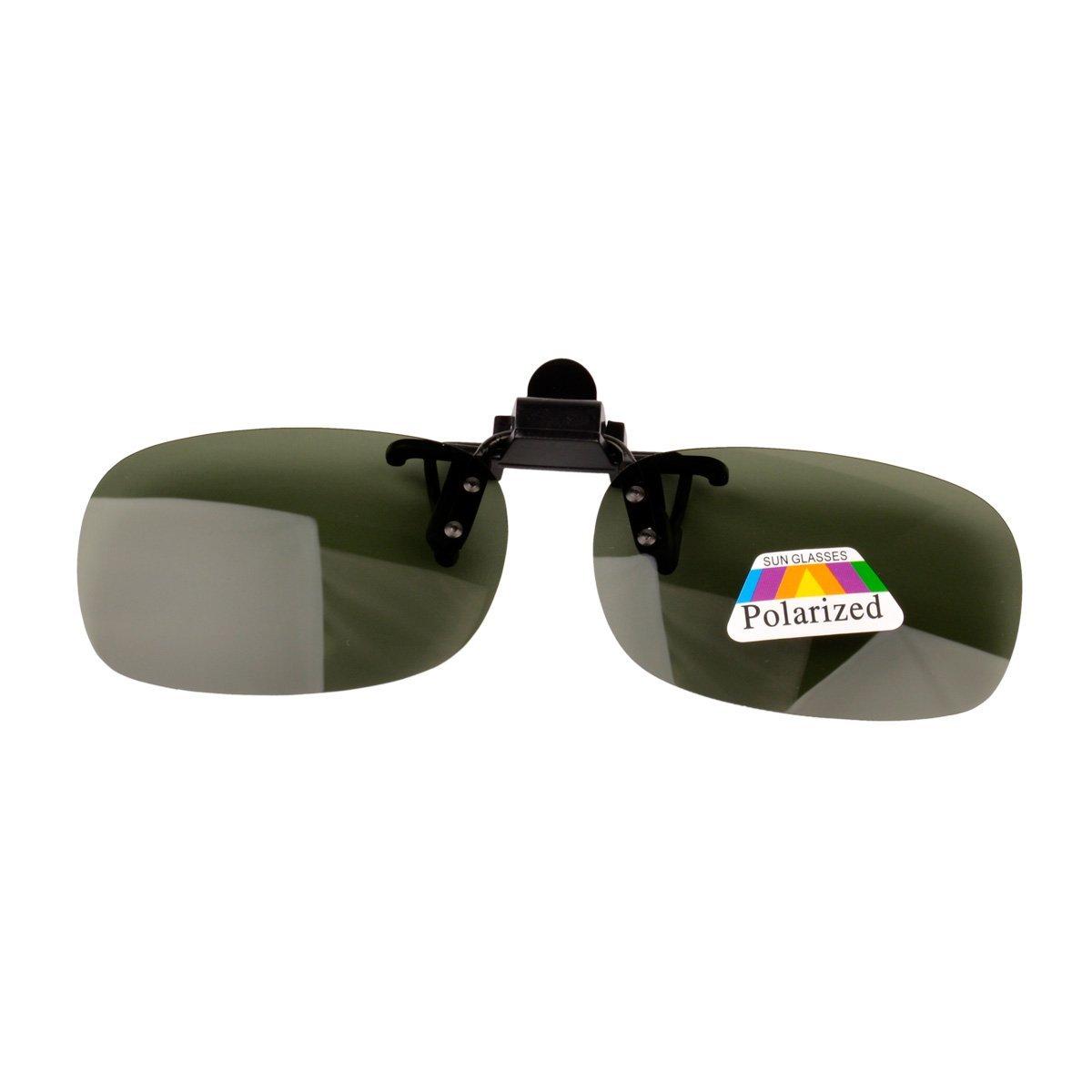CkeyiN ®Sonnenbrillen Clip + Night Vision Brille polarisierte Linse Männer Frauen Anti UV Brille Clip für die Fischerei Fahren