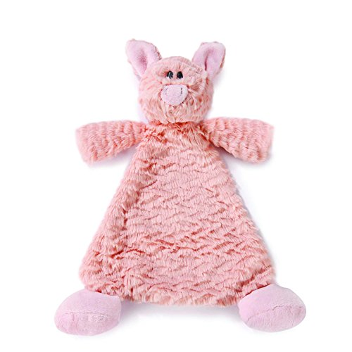 Pig Rattle - Nat and Jules Rattle Blankie, Pudder Pig