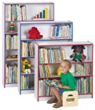 Bookcase - 60'' High - Navy - School & Play Furniture