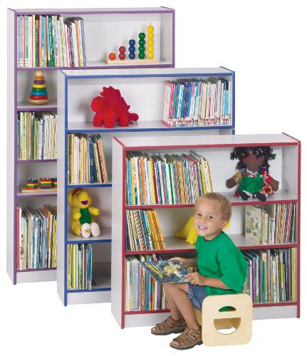 Bookcase - 48'' High - Green - School & Play Furniture by CutieBeauty