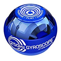 Powerball Classic Gyroscopic Hand Grip Exerciser Ball,Blue.250HZ