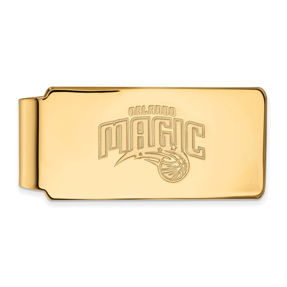 NBA Orlando Magic Money Clip in 10K Yellow Gold
