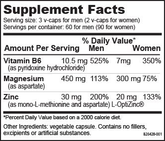 NutraBio ZMA 292 grams – Nighttime Muscle Recovery Supplement