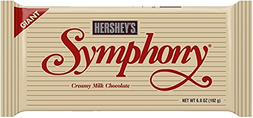 Hershey's Giant Symphony Bar 6.8 oz (Pack of 6)