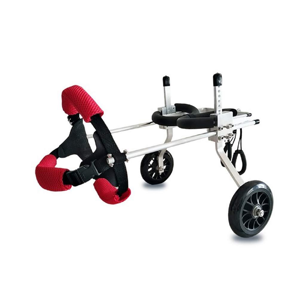 Jlxl Sedia rossoelle Cane, Animale Domestico Reinserimento Regolabile A Piedi Scooter Disabilitato Assistito Posteriore Arto rossoto Gamba (Dimensioni   M)