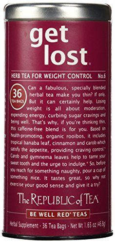 The Republic of Tea, Get Lost Tea, 36-Count, 1.65 Ounce