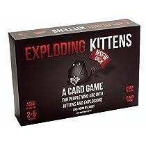 Exploding Kittens NSFW Edition - Juego de Cartas (Contenido explícito, en inglés)