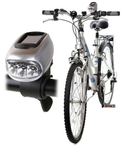 Luz bicicleta solar dinamo: Amazon.es: Hogar