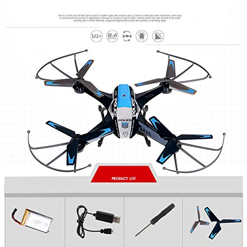 MOZATE A9 2.4G 4CH 6-Axis Gyro Remote Control 3D Flip Roll Drone (Black) by MOZATE (Image #2)
