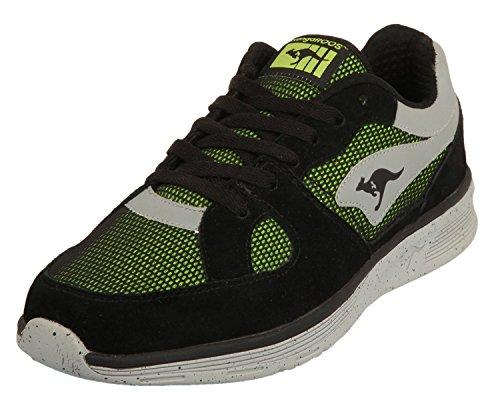Lime COIL-R1-multi Black/Lime 471420-580, Size Herren Schuhe:42 (Kangaroos Leather Sneakers)