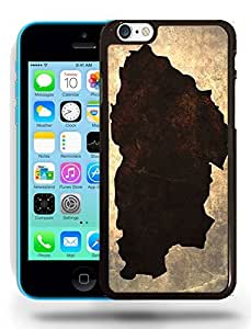 Bhutan National Vintage Country Landscape Atlas Map Phone Case Cover Designs for iPhone 5C