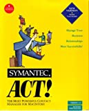 Software : Act! 2.0 for Macintosh