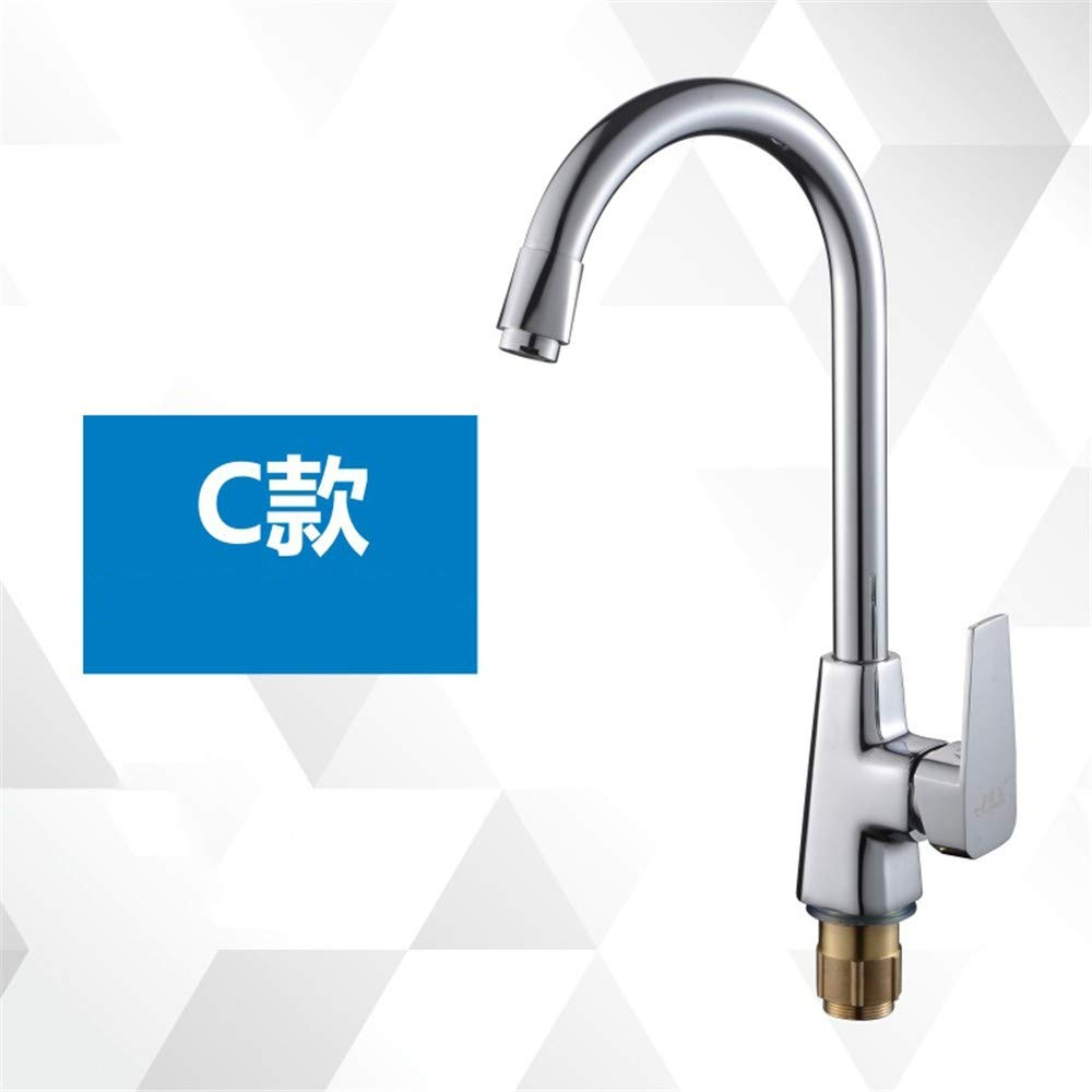 Sink Tap Copper Body Hot and Cold Kitchen Sink Mixing Valve redating Sink Faucet