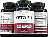 Cheap Keto Fit Shark Tank Keto Diet Pills: Vegan Friendly Keto Fat Burner Weight Loss Pills with Exogenous Ketones Beta-Hydroxybutyrate (BHB) Salts and Grains of Paradise, Burn Fat Not Carbs, 60 Veggie Caps