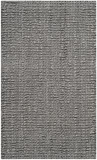 "Safavieh Natural Fiber Collection NF447G Hand Woven Light Grey Jute Area Rug (2'6"" x 4') (B00CMHAPN6) 