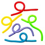 "Sensory String Fidget Toys -5 Pack - 10"" to 8' Stretchable and Flexible - Anxiety and Stress Relief for Kids With Special Needs, Autism and ADHD - By SyPen"