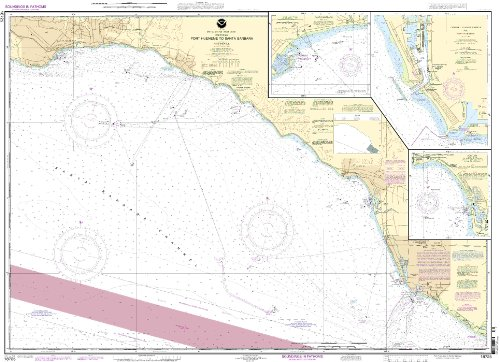 18725--Port Hueneme to Santa Barbara, Santa Barbara, Channel Islands Harbor and Port Hueneme, -