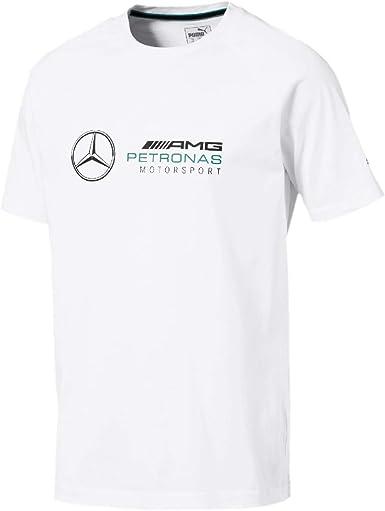 Mercedes AMG Petronas Mercedes Amg Logo tee, M Camiseta, Blanco (White White), Medium para Hombre: Amazon.es: Ropa y accesorios