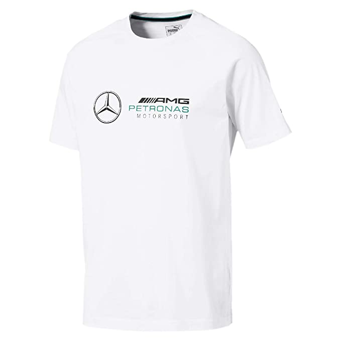 Mercedes AMG Petronas Mercedes Amg Logo tee, M Camiseta, Blanco ...