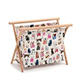 Hobby Gift 'Cats in Jumpers' Sewing Basket 23 x 36 x 36cm (d/w/h)