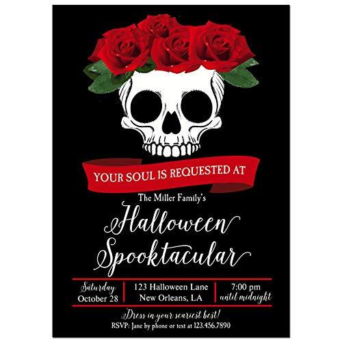Halloween Party Invitation - Halloween Invitation - Gothic Glam Collection -