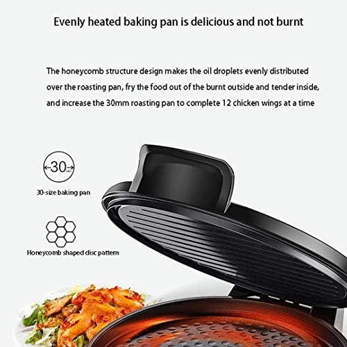 Grille de Presse à Sandwich avec Plaque de revêtement antiadhésive Facile à Nettoyer, contrôle Automatique de la température, Acier Inoxydable, 700 W