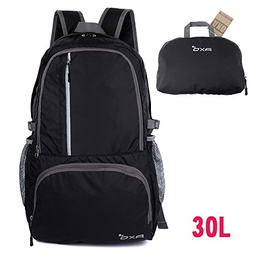 OXA Ultralight Foldable Daypack Packable Backpack 30L, Durable Hiking Backpack Travel Backpack