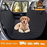 Cheap VECELA Dog Car Seat Cover Pet Car Mat 100% Waterproof Scratch Proof Nonslip Dog Seat Cover 600D Heavy Duty Bench Car Seat Cover Protector Large Size Cars Trucks SUVs