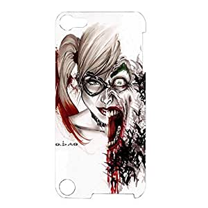 Comic Horror Harley Quinn Phone Case Nice Phone Cover for Ipod Touch 5th Generation