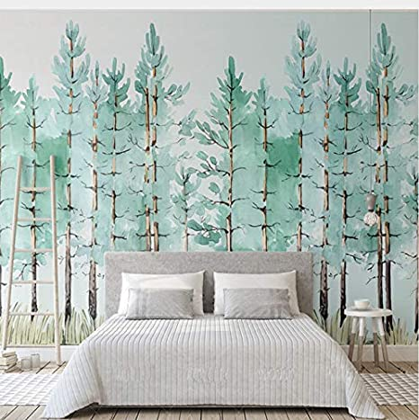 Lifme Benutzerdefinierte Wandbild Moderne Mode Mintgrün ...