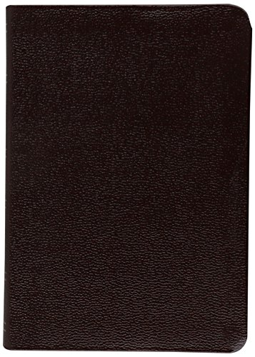 KJV Large Print Compact Bible, Burgundy Bonded (Case Bonded Leather)