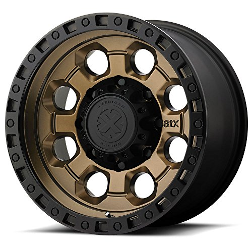American Racing ATX AX201 17x9 Black Bronze Wheel / Rim 5x5 with a -12mm Offset and a 78.30 Hub Bore. Partnumber AX20179050612N ()