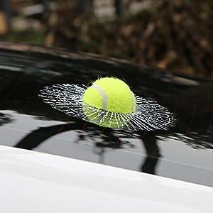 3D-Autoaufkleber/Scherzaufkleber, Motiv Tennisball