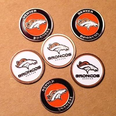 Denver Broncos Ball Marker Set