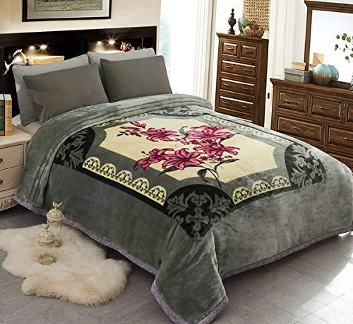 - JML Fleece Blanket, Plush Blanket King Size 85