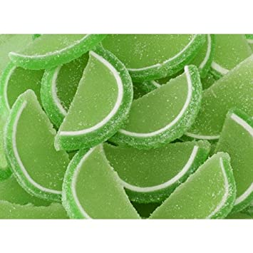 how to make candied lime slices