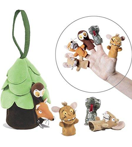 der Grüffelo – Grüffelokind Fingerpuppen-Set Axel Scheffler Julia Donaldson Fingerpuppen (Nonbooks) Spielzeug (Nonbooks)