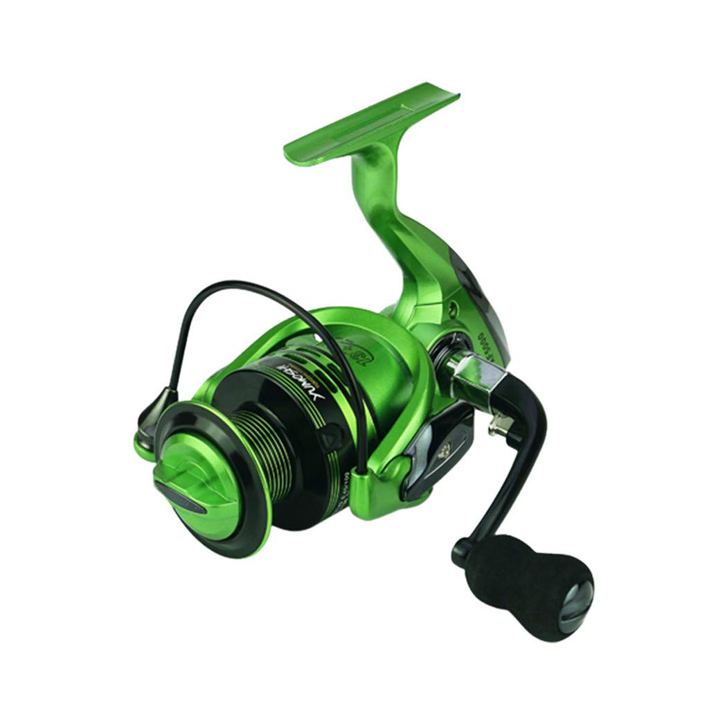 cnnIUHA Full Metal Spinning Reel 14axis Fishing Reels Fishing Gear Spincast Reel New for YUMOSHI XF