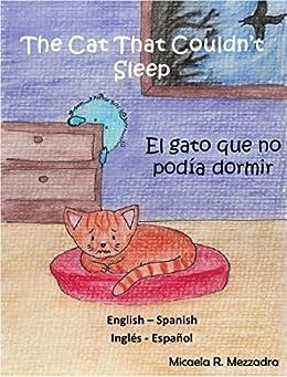 children s book the cat that couldn t sleep   el gato que