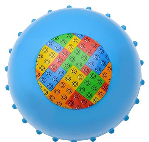 5'' BLOCK KNOBBY BALL, Case of 1 by DollarItemDirect
