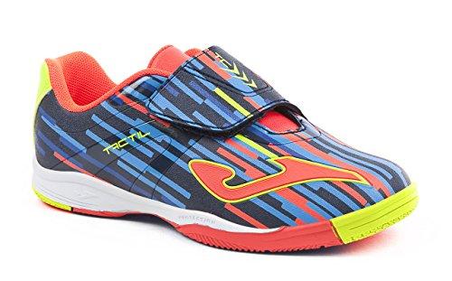 Joma Tactil, Zapatos de Futsal Unisex Niños Azul (Navy)