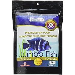 Northfin Food Jumbo Formula 6mm Pellet 250 Gram Package