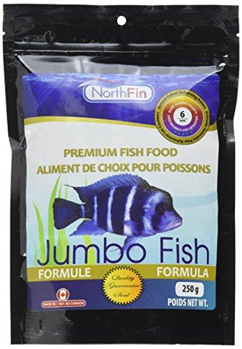 Northfin Food Jumbo Formula 6mm Pellet 250 Gram Package ()