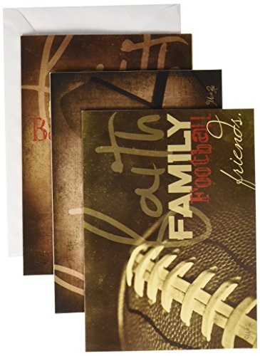 Divinity Boutique Greeting Card Assortment: Birthday for Him, Faith Family Sports (21239N)