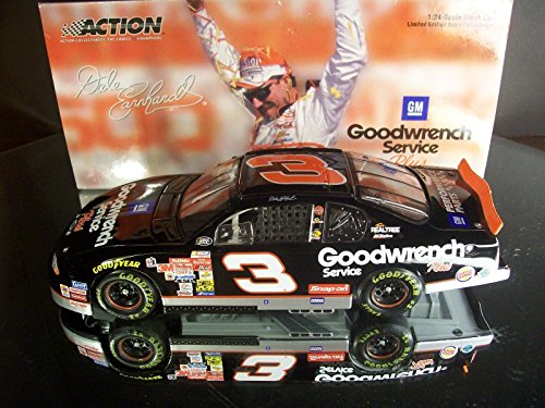 2000 Dale Earnhardt #3 Goodwrench Service Plus Richmond Win Non-Raced No Bull Paint Scheme Action Racing Collectables 1/24 Limited Edition Hood Opens ARC Produced in 2003 ()