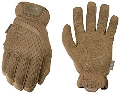Mechanix Wear - FastFit Coyote Tactical Touch Screen Gloves (Medium, Brown)