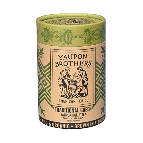 - Yaupon Brothers Traditional Green Yaupon Tea, Eco-tube with 16 teabags