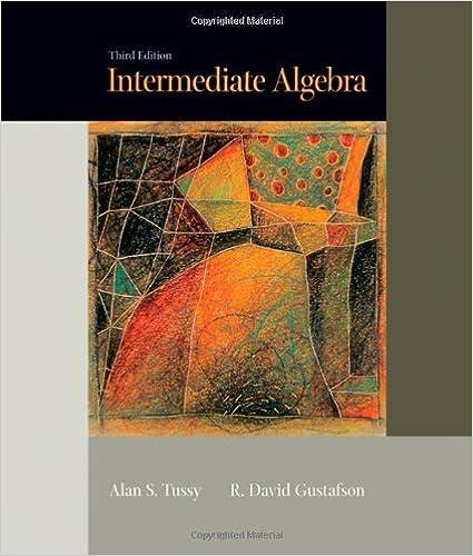Intermediate Algebra, Third Edition